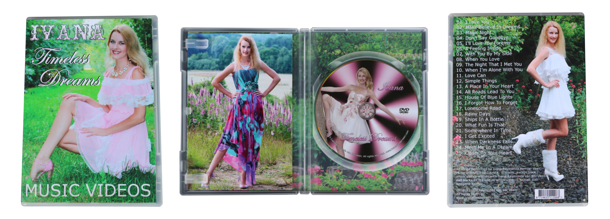 DVD Ivana - Timeless Dreams