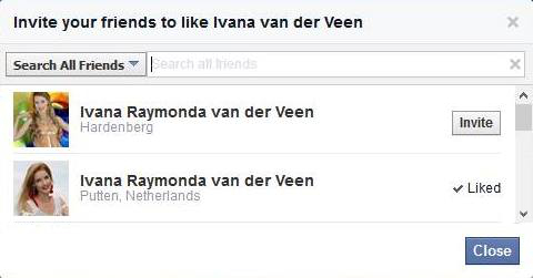 Invite Ivana Raymonda van der Veen